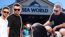 Sam Smith -- Hanging Out at Sea World ... But Not the Bad SeaWorld