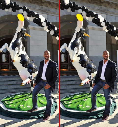 Can you spot the THREE differences in the Jaleel White photos?