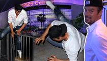 Josh Duhamel -- He Came, He Saw … He Ate It! ... TMZ TV