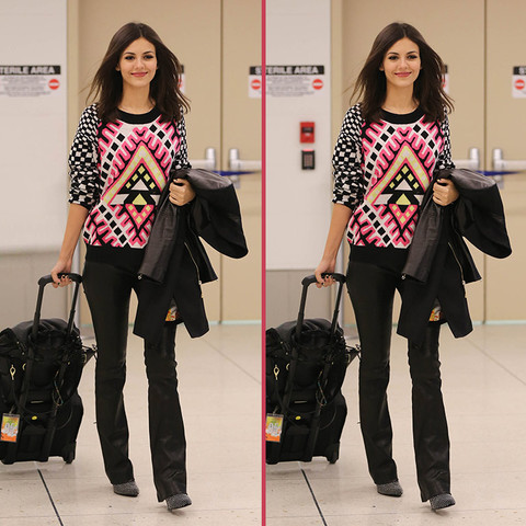 Can you spot the THREE differences in the Victoria Justice photos?