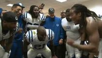Colts' Sergio Brown -- Ric Flair Victory Speech ... After Beating Broncos
