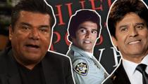 George Lopez -- Erik Estrada Ain't CHiP to Me, Man! (TMZ TV)