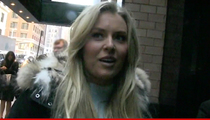 Lindsey Vonn -- TIGER DIDN'T LIE ... About Missing Tooth Story