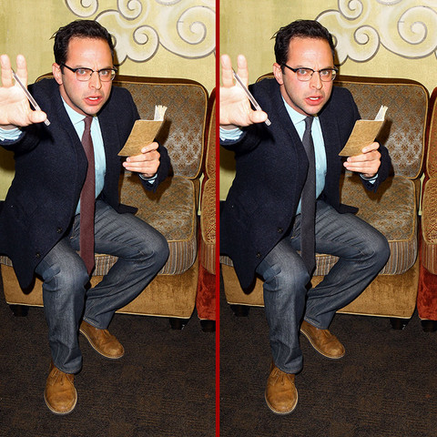 Can you spot the THREE differences in the Nick Kroll photos?