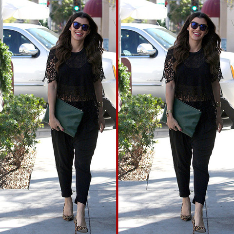 Can you spot the THREE differences in the Ali Landry photos?