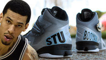 Spurs' Danny Green -- PERMISSION GRANTED ... To Wear Stuart Scott Shoes