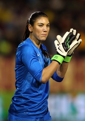 Hope Solo -- On The Field