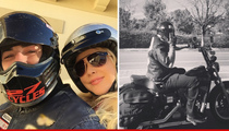 Shanna Moakler -- I'm Riding With the Hells Angels ... Travis, Beware