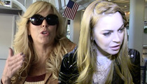 Lindsay and Dina Lohan -- Sue Fox News Channel ... We Didn't do Coke Together!
