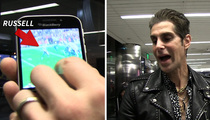 Perry Farrell -- My Wife's Selfie ... Captured Super Bowl Disaster!!!