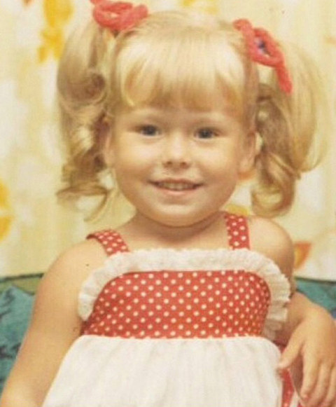 Before this pigtailed little lady was a huge personality on a morning television show she was just another towheaded toddler growing up in Stratford, New Jersey.
