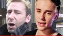Nickelback's Chad Kroeger -- This is How Justin Bieber Reminds Me ... OF EMBARRASSMENT!!