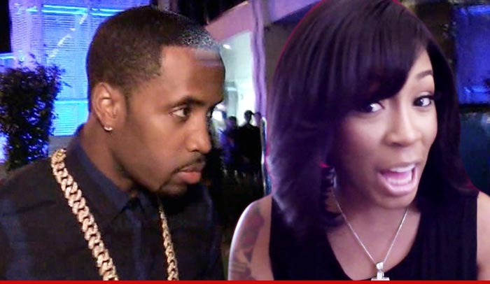 You gotta hand it to Safaree Samuels, he knows what he likes -- because TMZ has learned he has moved on from Nicki Minaj to a new singing booty queen…