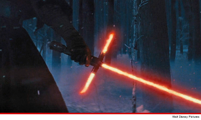 J.J. Abrams -- New Lightsaber Gets Seal of Approval ... From Major Celebrity Nerd