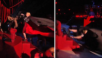 Madonna -- Violently Yanked to Ground During Awards Show