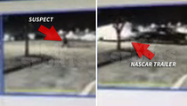NASCAR Heist -- Race Car Thieves Caught On Camera