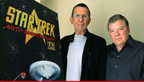 William Shatner -- I Can't Attend Spock's Funeral