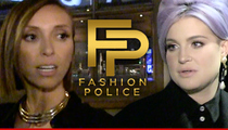 'Fashion Police' Staffers -- Giuliana Rancic and Kelly Osbourne Are Ruining Joan Rivers' Legacy