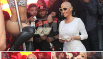 Amber Rose & Blac Chyna -- Baby Mamas' Night Out ... At the Strip Club!