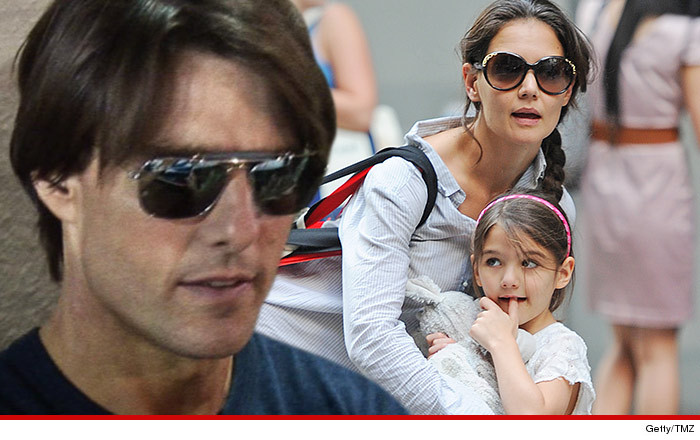 2ec822720882 Tom Cruise and Katie Holmes -- No Love Lost ... NOT on Speaking Terms