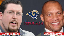 Mayor of Ferguson -- The STL Rams Could Heal Our City