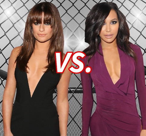 Sing-Off! Lea Michele (28) vs. Naya Rivera (28)