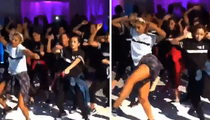 AJ Green's Wife -- DANCE CREW BREAKDOWN ... At Huge ATL Wedding