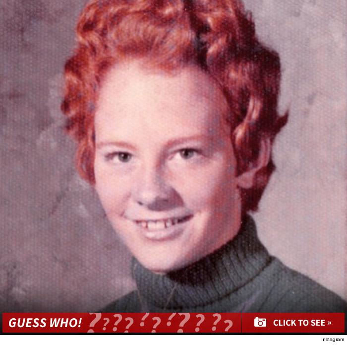 Guess who this redhead is