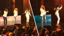 Destiny's Child -- Battle for Center Stage at Reunion (TMZ TV)
