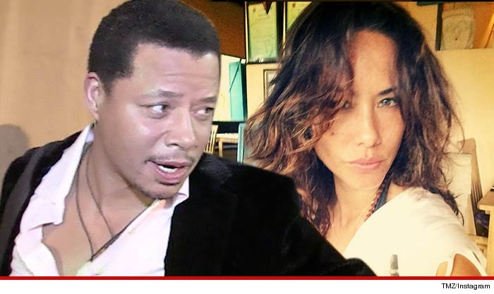Terrence Howard -- My Ex-Wife Blackmailed Me With Naked -3639