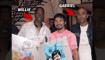 Willie Gault -- My Son's A Knockout Artist ... Just Ask Manny Pacquiao