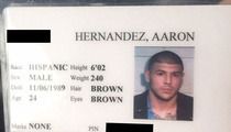 Aaron Hernandez -- Jailhouse I.D. For Sale ... On eBay
