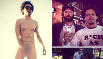Adult Swim Star Eric Andre -- Naked And Not Afraid ... Throws Epic Trailer Park B-Day Blowout