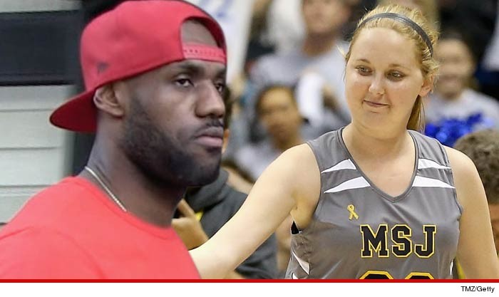 LeBron James just posted a goodbye letter to Lauren Hill -- the 19-year-old  college basketball player who died from brain cancer -- explaining how she  ... fb5dd26cbc