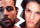 Zachary Levi & Missy Peregrym -- Secret Wedding Ends in Secreter Divorce