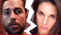 Zachary Levi & Missy Peregrym -- Secret Wedding Ends in Secreter Divorce