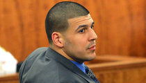 Report: Aaron Hernandez -- Busted for Being Lookout in Prison Fight