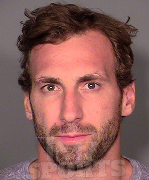 NHL star Jarret Stoll tried to smuggle an 8-ball of cocaine and 8 grams of Molly into a Vegas pool party ... by hiding them in his board shorts ... this according to the police report obtained by TMZ Sports.