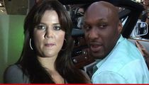 Khloe Kardashian, Lamar Odom Not Ready for Divorce ... The Door's Open a Crack