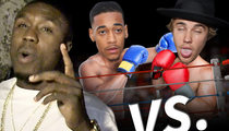 Andre Berto -- Lil Za Would Kick Justin Bieber's Ass ... In The Boxing Ring