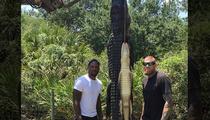Miami Heat Stars -- GATOR RAID ... Team Up for Swamp Hunt