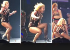 Britney Spears -- Down She Goes! (VIDEO)