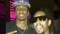 NFL Draft's Trae Waynes -- Did He Celebrate With Lil Jon ... Yeeeahhhhh!!!!