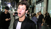 Vine Star Cameron Dallas -- All Clean After Messy Paint Arrest