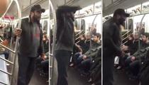 'Walking Dead' Star Chad L. Coleman Goes Ballistic on NYC Subway (VIDEO)