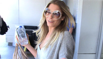 LeAnn Rimes -- Accidentally Sets Off Airplane Fire Alarm ... MY BAD!!! (VIDEO)