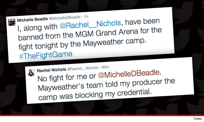 7a23ef4ba004 ESPN s Michelle Beadle -- Mayweather Banned Me From Fight ... Floyd ...