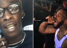 Young Thug -- I'm Coming to L.A. ... The Game's Gun Threats Don't Scare Me