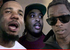 The Game & Young Thug -- Beef Squashed ... A Capone Saves the Day