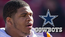 La'el Collins -- $21,000 Signing Bonus ... After Signing with Cowboys